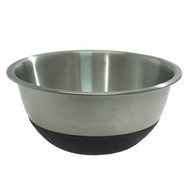 Amco Houseworks Stainless Steel 3 Qt.Silicone Bottom mixing bowl