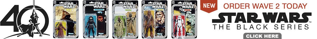Star Wars 40th Anniversary Black Series Wave 2 Order