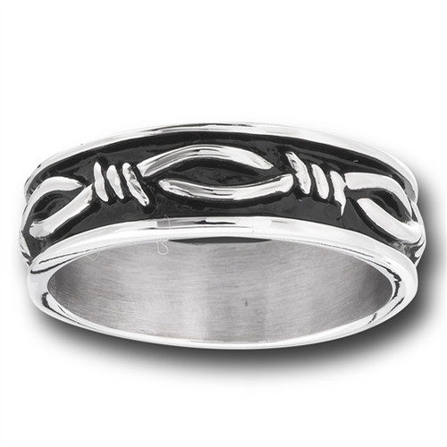 Stainless Steel Barb Wire Ring
