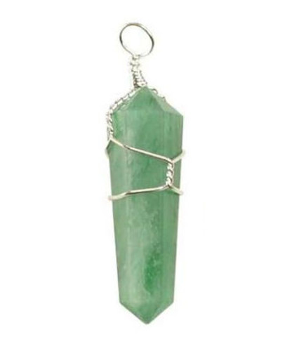 Wire Wrapped Aventurine Point