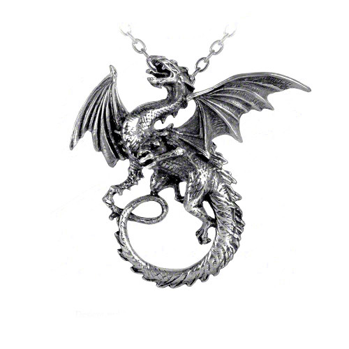 The Whitby Wyrm-Dragon Necklace