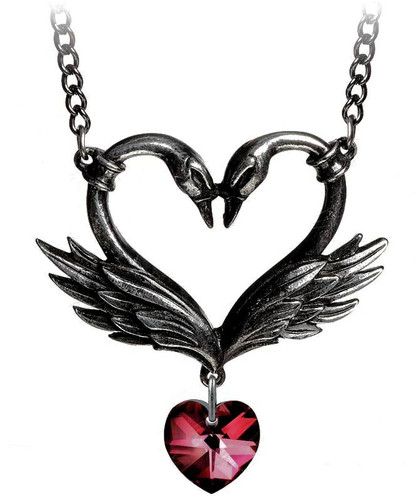 Black Swan Event Necklace