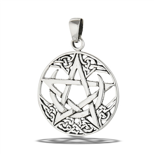 Sterling My Moon and Stars Pendant