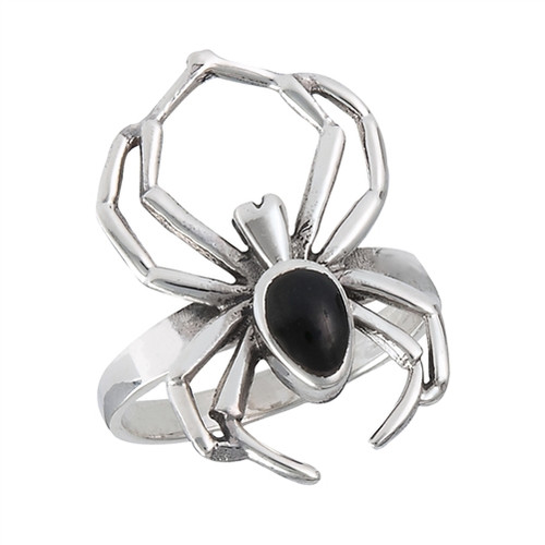 Sterling Arachnia Ring