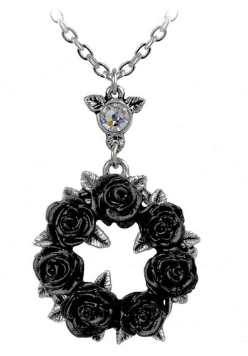 Ring around the Roses Necklace