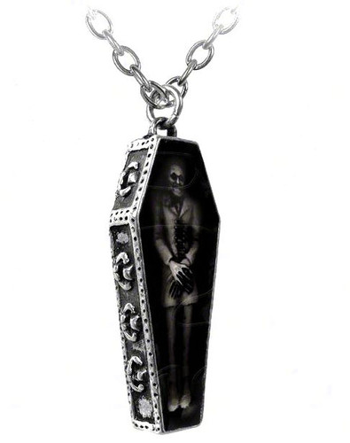 Bedtime for Nosferatu Necklace