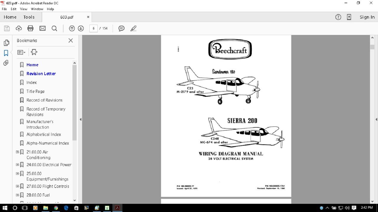 muskele__23688.1498414778?c=2 sundowner sierra wiring diagram electrical service manual Beechcraft Sierra at eliteediting.co