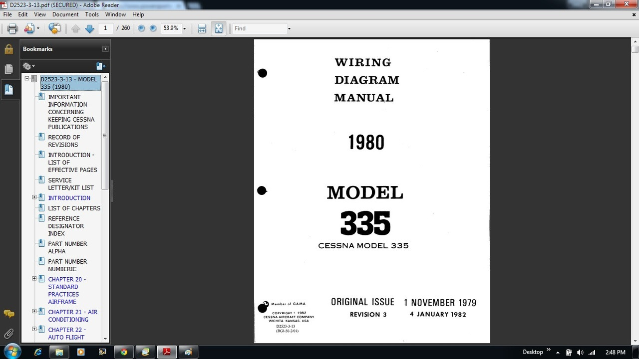 335wd__74111.1498333310?c=2 335 wiring diagram electrical manual d2523 3 13 Beechcraft Sierra at eliteediting.co