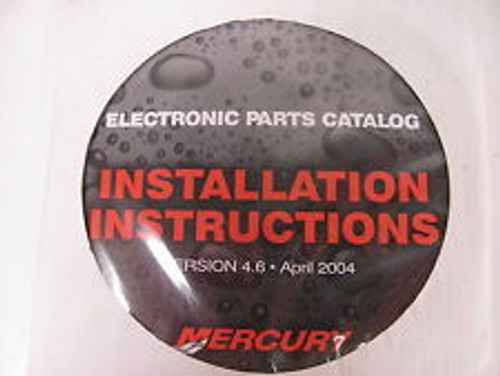 Mercury Marine Electronic Parts Manual Chrysler Force Marine Outboard Motors
