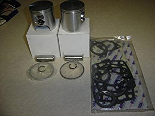 Yamaha 480 485 hovercraft engine top end piston kit
