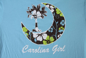 Blue Carolina Girl