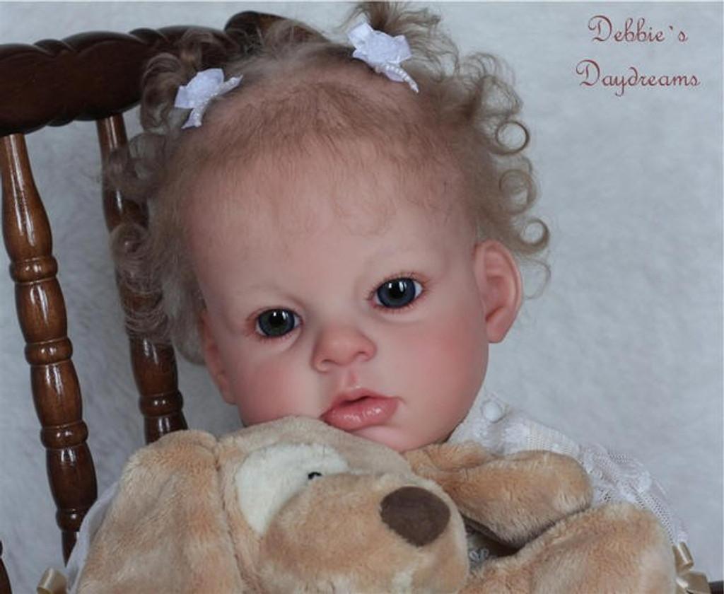Arianna Awake Vinyl Toddler Doll Kit by Reva Schick