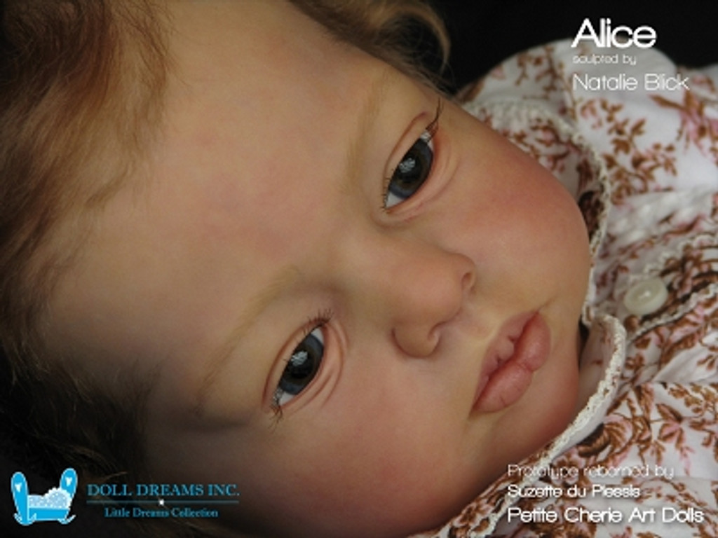 Alice Vinyl Doll Kit by Natali Blick - LDC