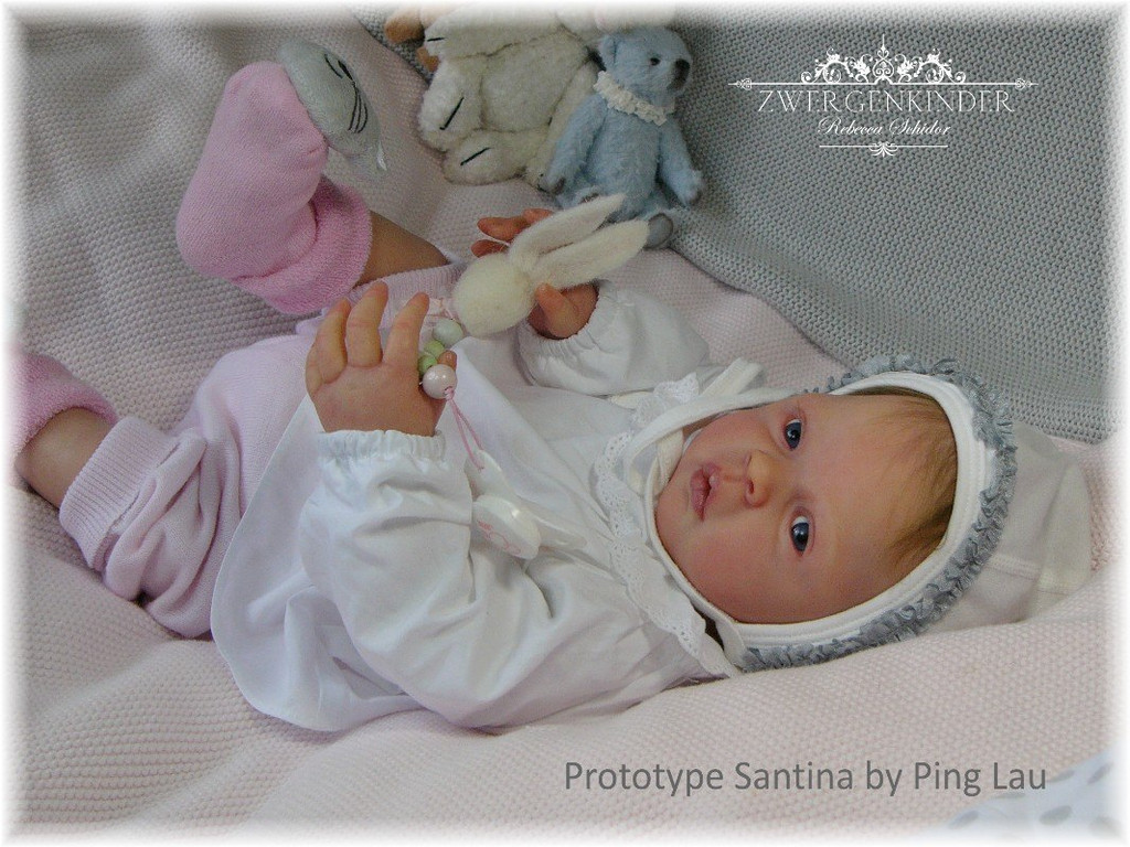 Santina Vinyl Doll Kit by Ping Lau - LDC