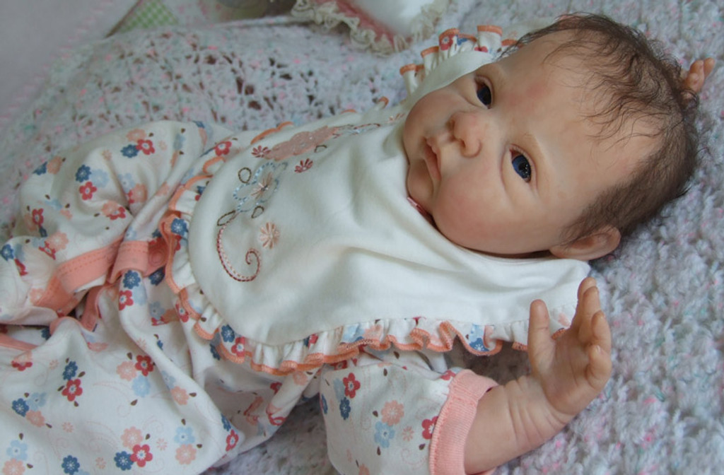 Saskia Reborn Doll Kit by Adrie Stoete