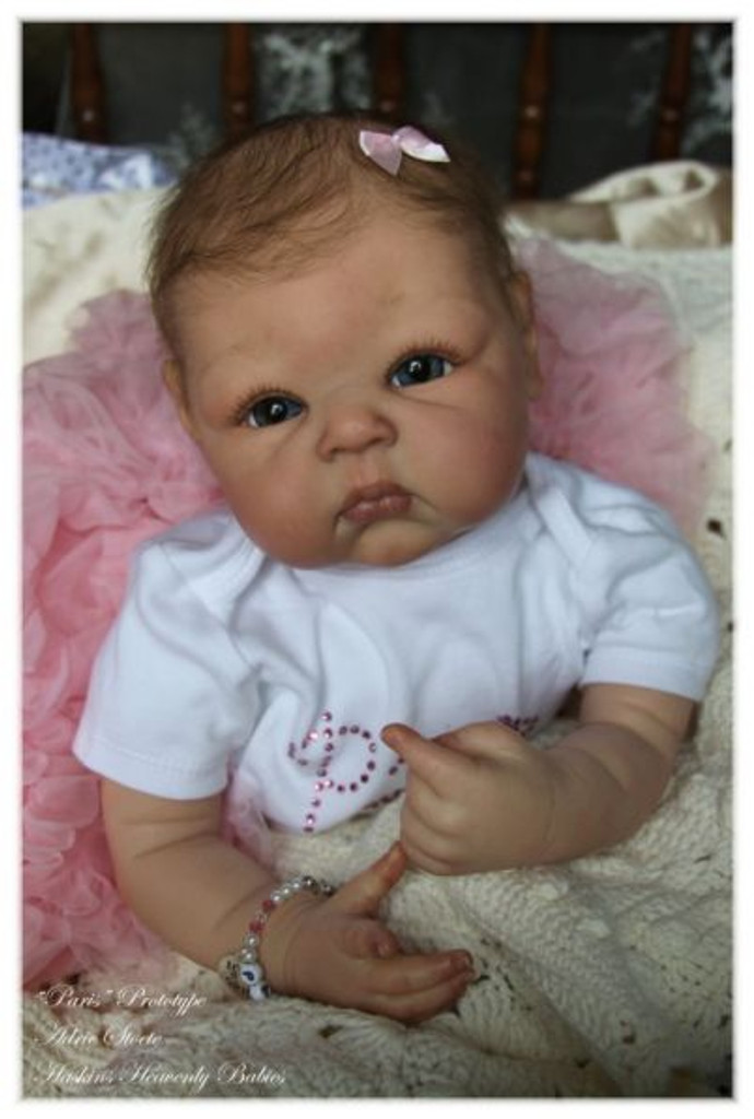 Paris Reborn Doll Kit by Adrie Stoete