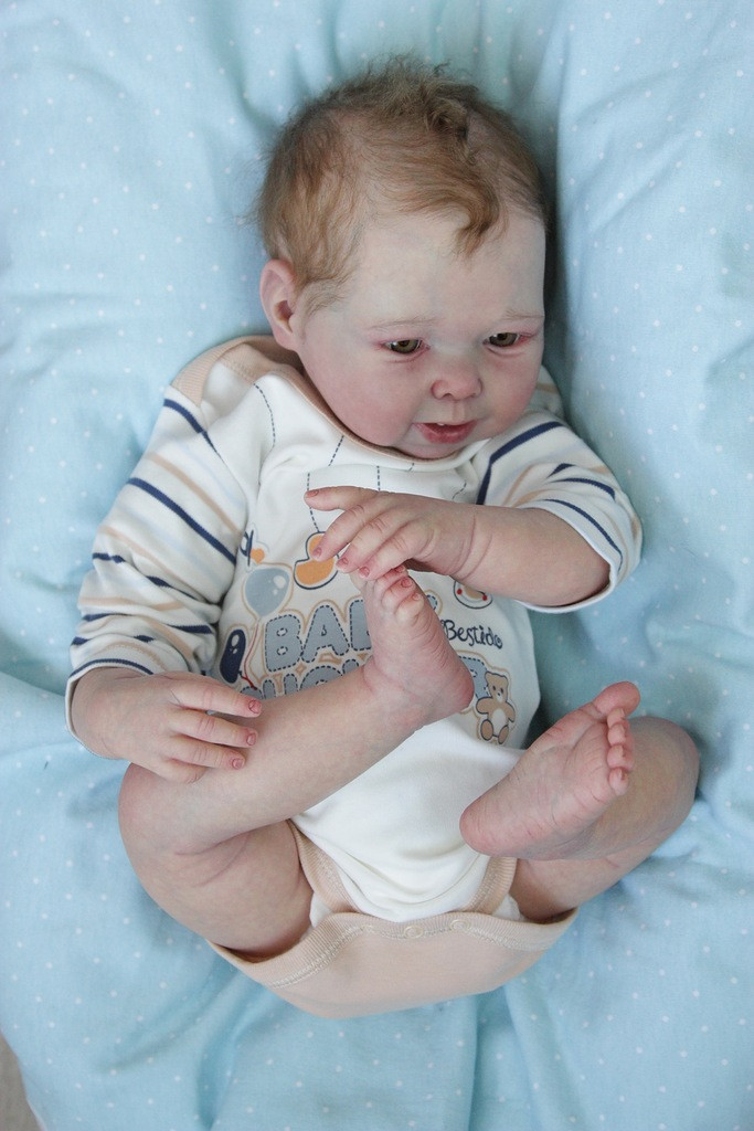 Robert Jan Toddler Reborn Doll Kit by Adrie Stoete