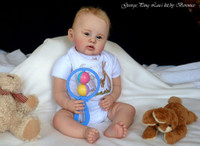 George Toddler Vinyl Doll Kit By Ping Lau