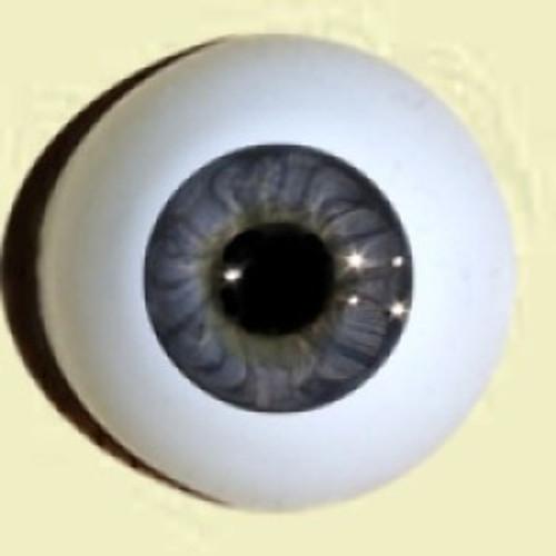 German Glass Eyes 16mm Full Round Dark Blue