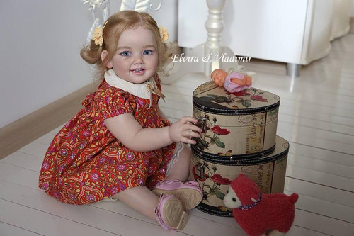 Cammi Toddler Doll Kit by Ping Lau