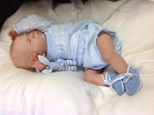 Newborn George Doll Kit by Ping Lau