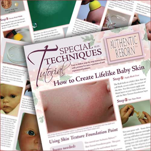 How to Create Lifelike Baby Skin STT