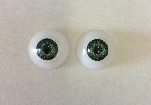 Acrylic 20mm Green Eyes