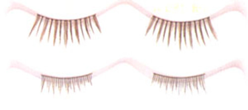 Eyelashes Double 20mm Medium Brown ALDBL-MB