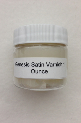 Genesis Satin Varnish 1 Ounce Jar