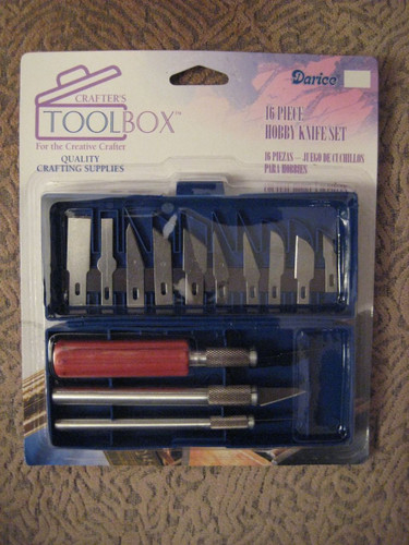 16 Piece Hobby Knife Set