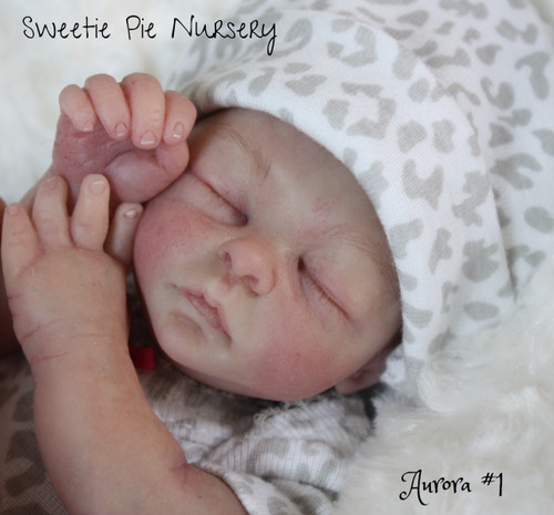 Aurora Preemie Silicone Doll Kit made with Eco Flex by April Yap