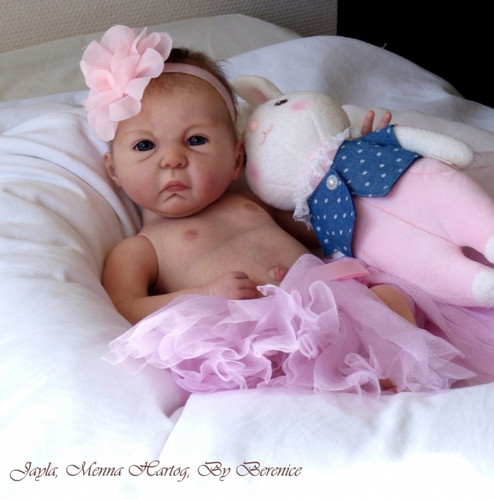 Jayla Vinyl Doll Kit by Menna Hartog