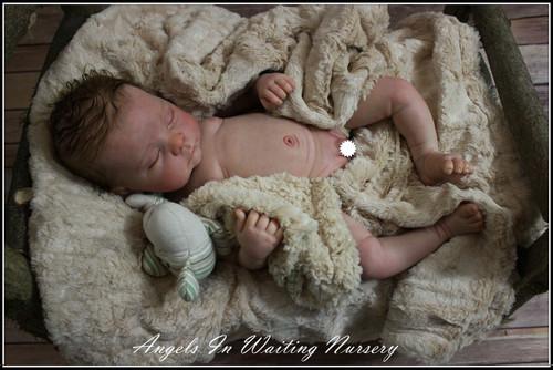 Full Torso Newborn Painting E-Book by Lara Antonucci #8