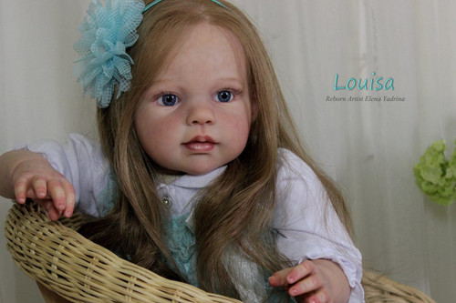 Louisa Vinyl Doll Kit by Jannie De Lange