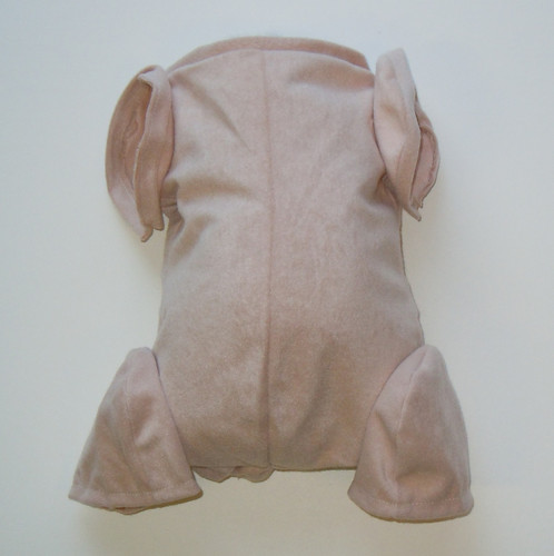 """Doe Suede Body for 22-24"""" Dolls Full Jointed Arms 3/4 Jointed Legs #700"""