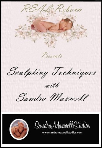 Sculpting Techniques DVD By Sandra Maxwell