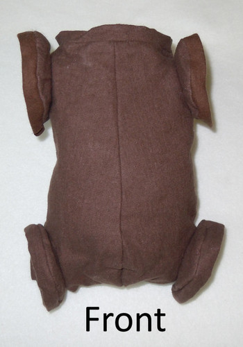 "Doe Suede Ethnic Body for 16-17"" Dolls Full Jointed Arms Full Jointed Legs #1274E"