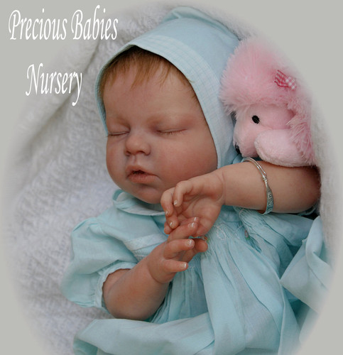 Noah Asleep Doll Kit by Reva Schick