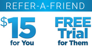 Refer a Friend and get $15