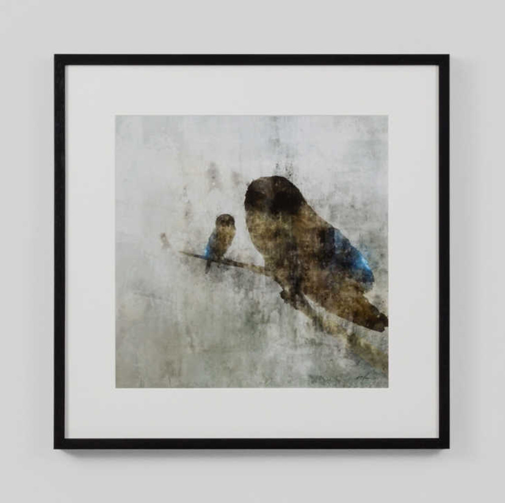 MAMA OWL AND BABY | Print Decor