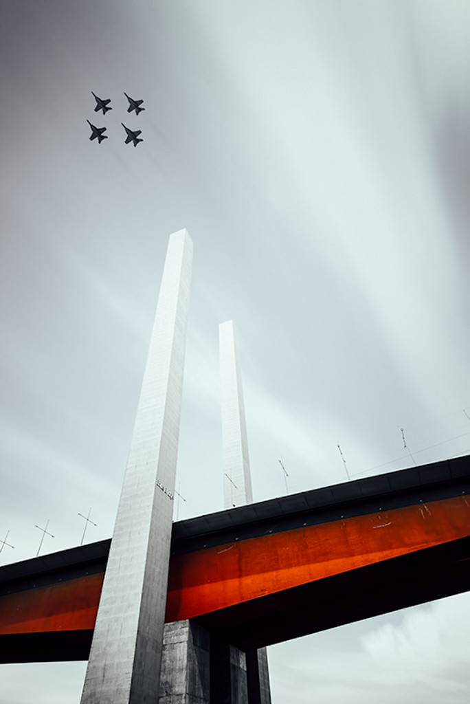 Bolte Bridge Fighter Jets