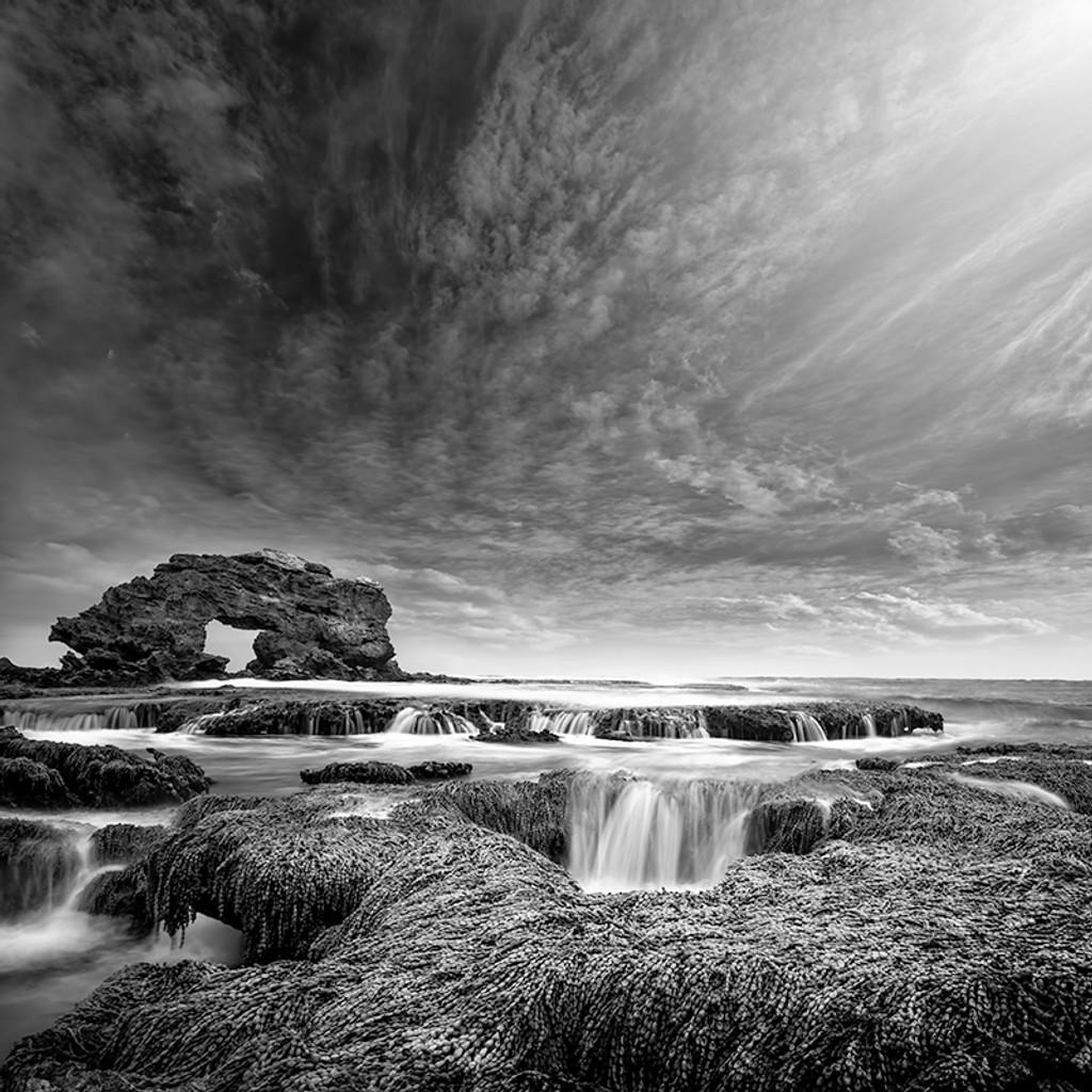Keyhole Rock Blairgowrie Ocean Beach