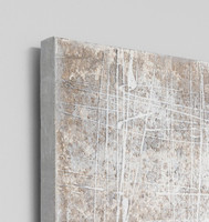 Abstract Artwork painted on canvas, detail | Litmus  | Modern Melbourne Art, Print Decor