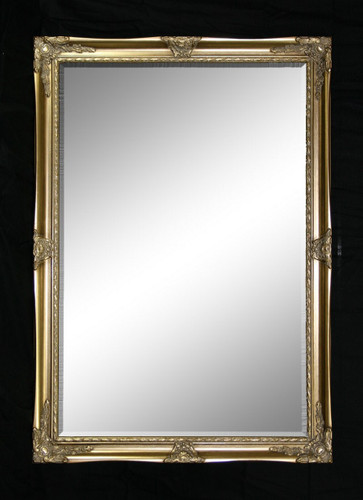Print Décor - Alexnadra Gold Beveled Mirror