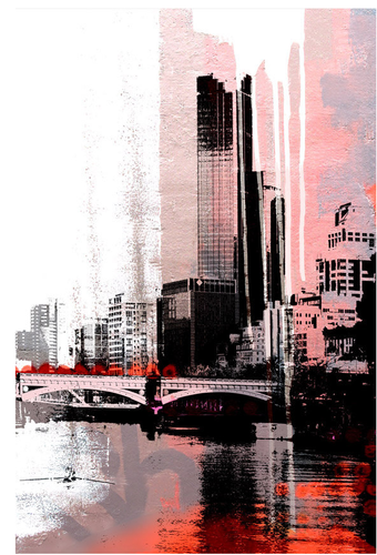 City On The Yarra (Red)
