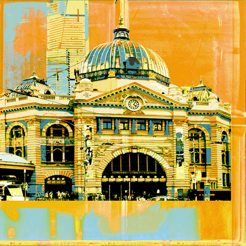 Jan Neil | Flinders Street Station