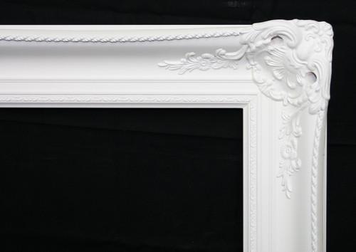 Ornate Mirrors: Classic White Ornate Mirror