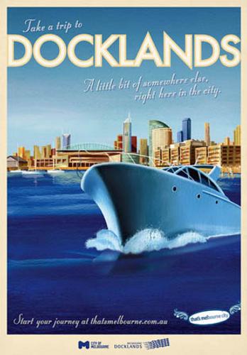 Print Decor   Bill Wood   Docklands Ship