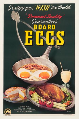 Print Decor | Board Eggs