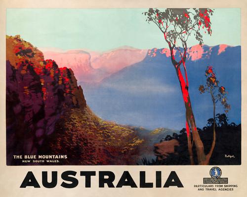 Print Decor | The Blue Mountains